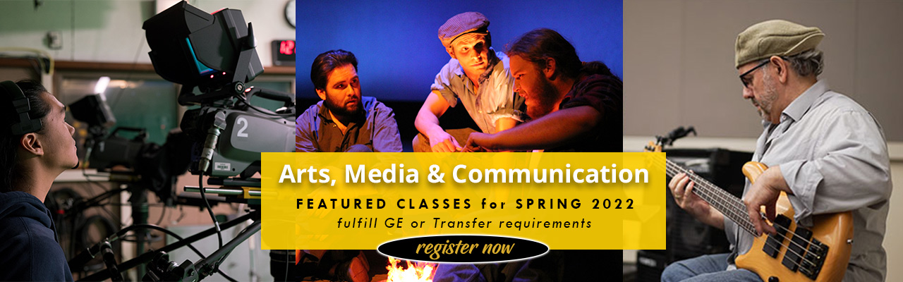 Arts, Media and Communications Featured Classes