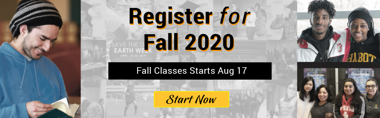 Apply and Register for Fall 2020