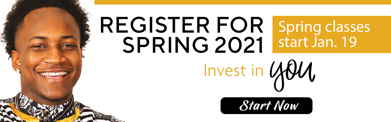 Apply and Register for Spring 2021