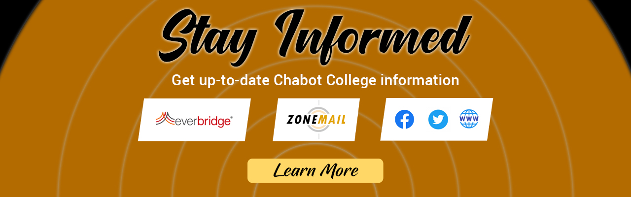 Learn how you can stay informed with current campus information.