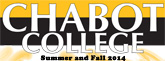 Chabot Summer Fall 2014 Class Schedule button