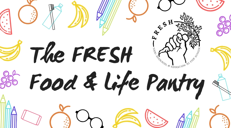 Banner for FRESH Food and Life Pantry