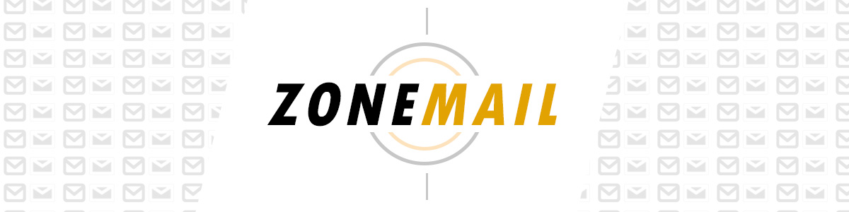 Zonemail logo and banner