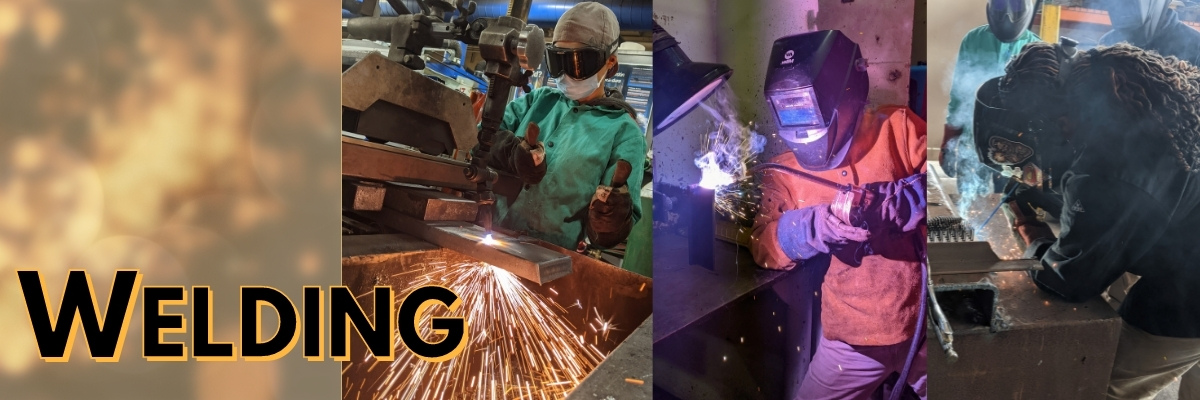 Welding at Chabot College